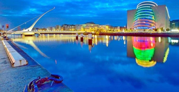 Ponte Samuel Beckett em Dublin