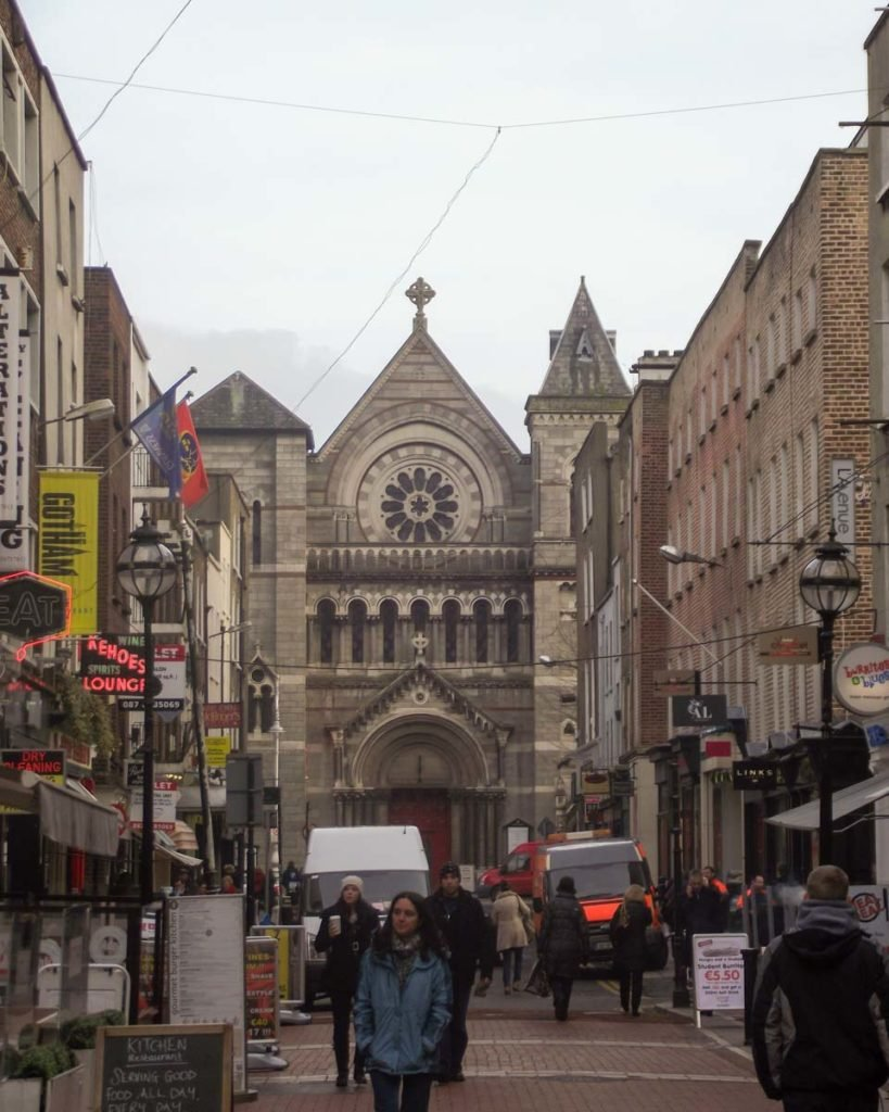 Centro de Dublin na Irlanda