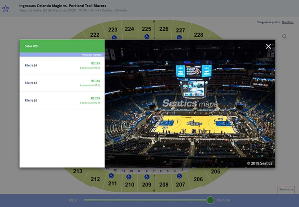 Comprar Ingresso Orlando Magic