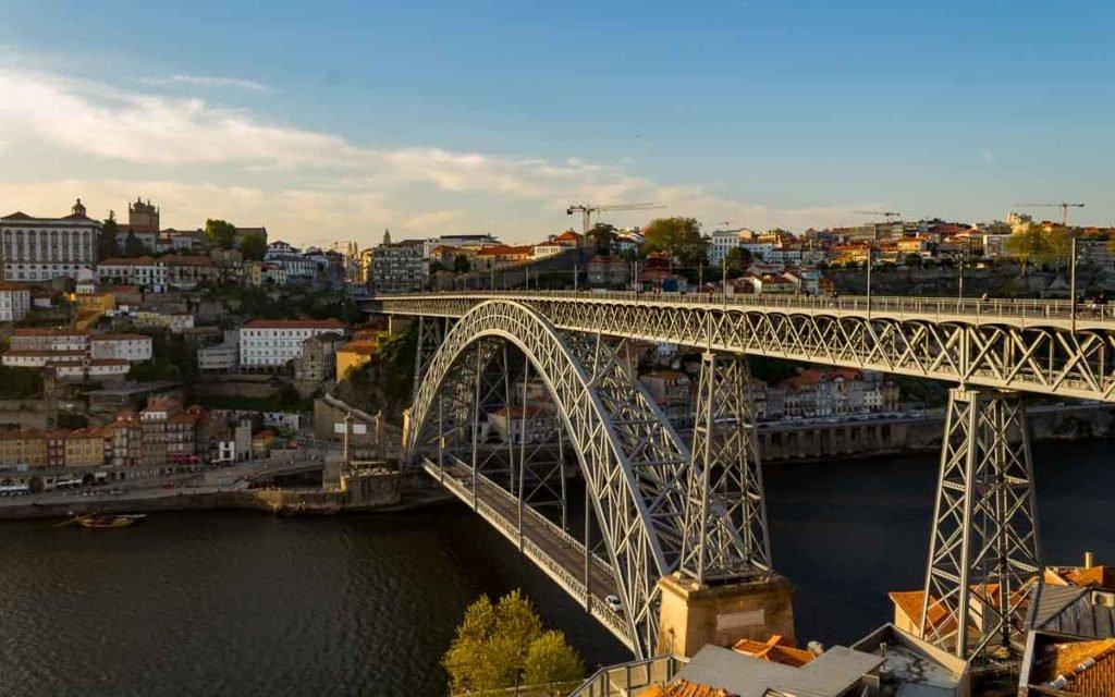 Ponte de D. Luís I no Porto