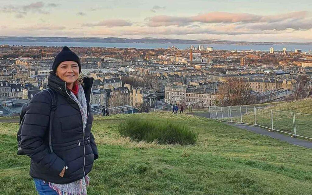 Edimburgo na Escócia