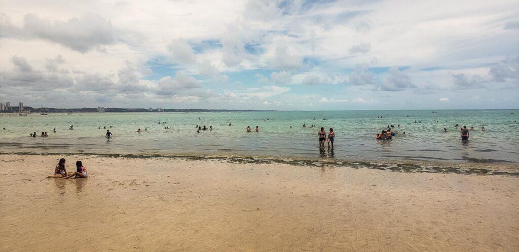 Praia de Ponta Verde em Maceió