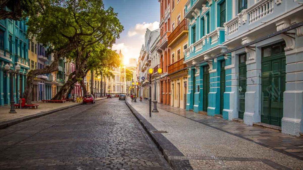 Rua do Bom Jesus no Recife Antigo
