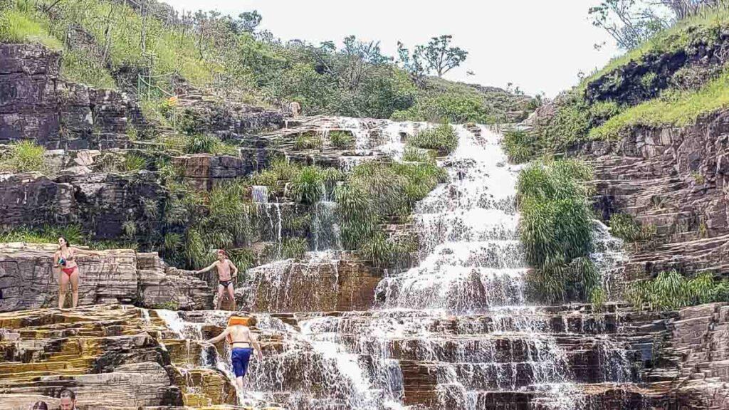 Cachoeira Lago Azul em Capitólio