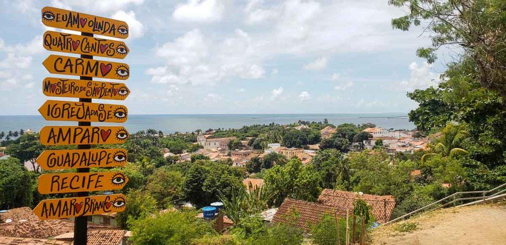 Olinda no Pernambuco