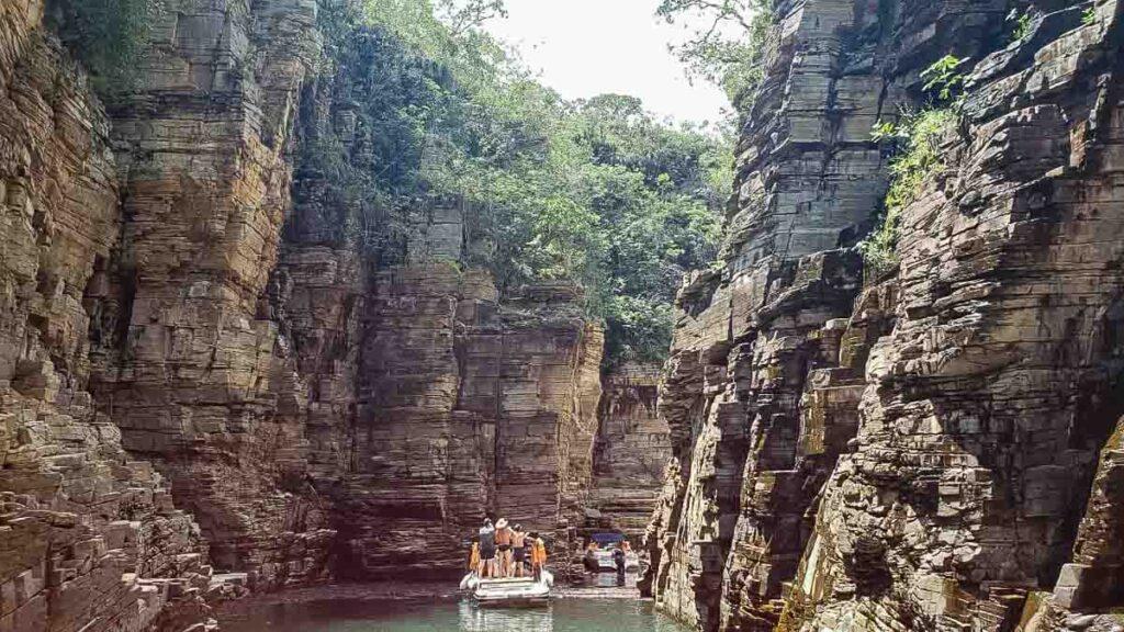Vale dos Canyons em Capitólio