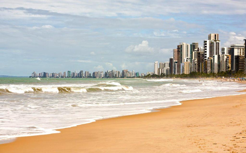 Praia de Boa Viagem no Recife