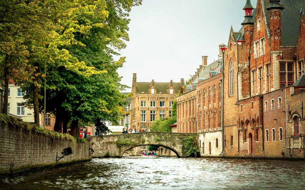 Canal Groenerei em Bruges