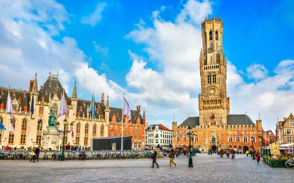 Market Square em Bruges