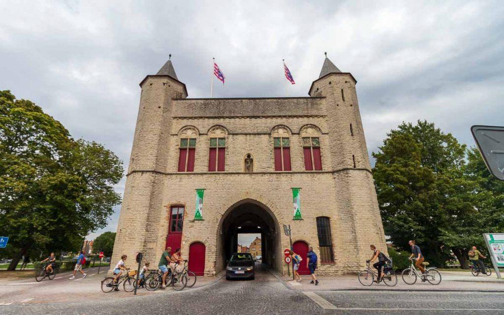 The Kruispoort em Bruges