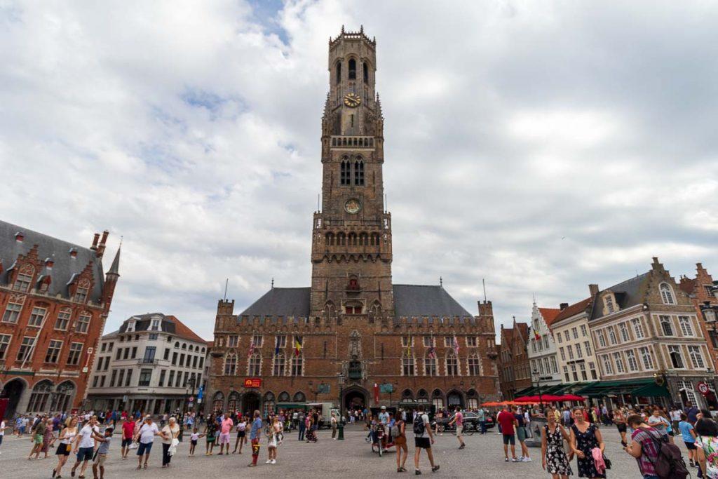 Torre Belfort em Bruges