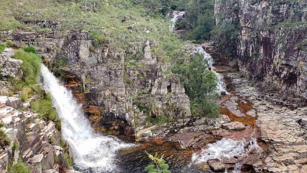 cachoeira do Patinho Feio em Capitólio