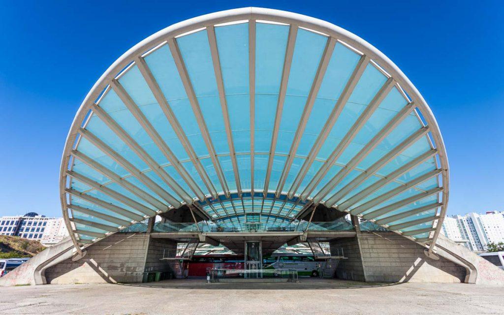Gare do Oriente em Lisboa