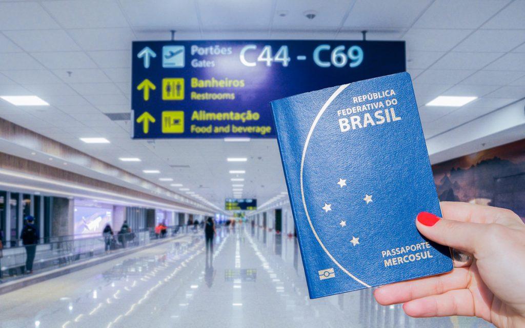 Países onde brasileiros não precisam de visto