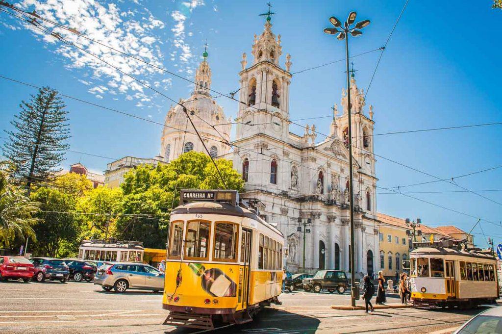 Transporte público em Lisboa