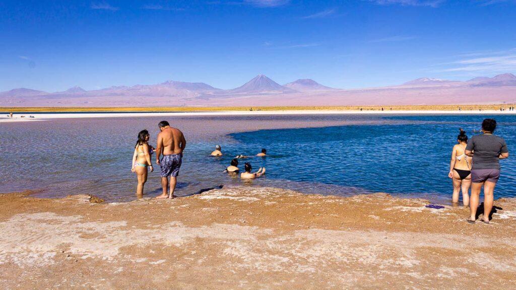 Laguna Piedra no Deserto do Atacama