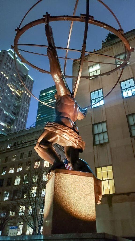 Atlas no Rockefeller center