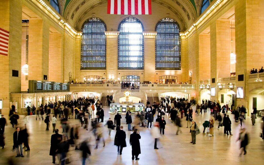 Grand Central Station em NY