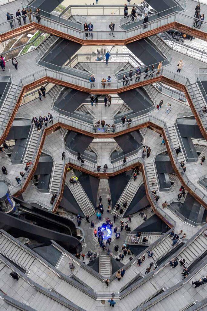 Interior do The Vessel