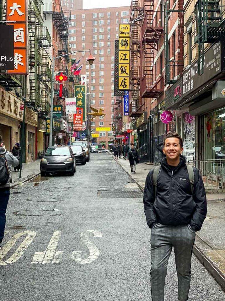 China Town em Nova York