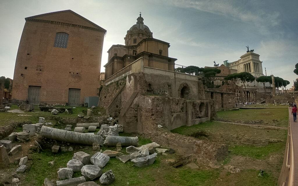 Ruínas do Fórum Romano