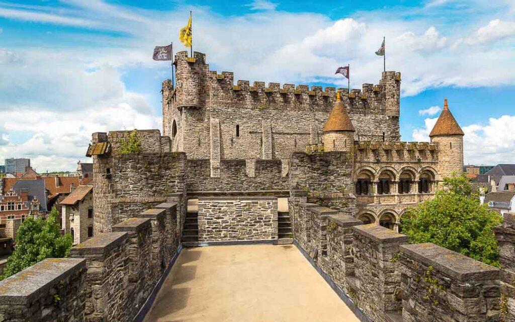 Castle Gravensteen em Gante