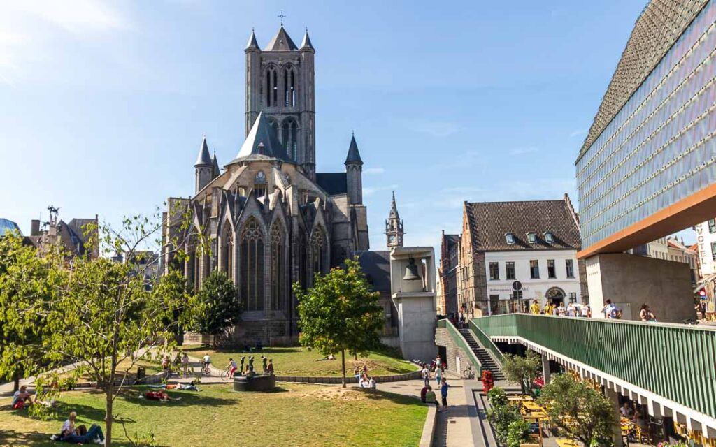 Igreja de São Nicolau em Gante