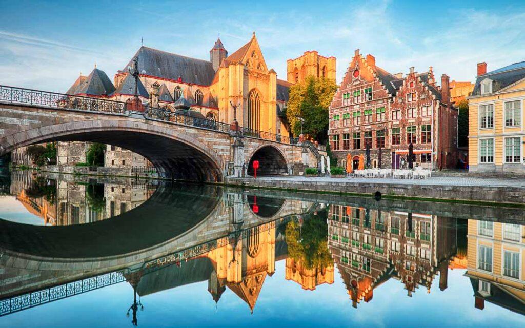 St Michael's Bridge em Gante