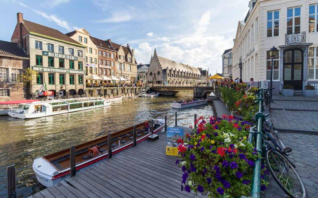 Passeio de Barco em Gante