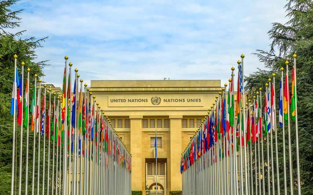 Sede europeia das Nações Unidas