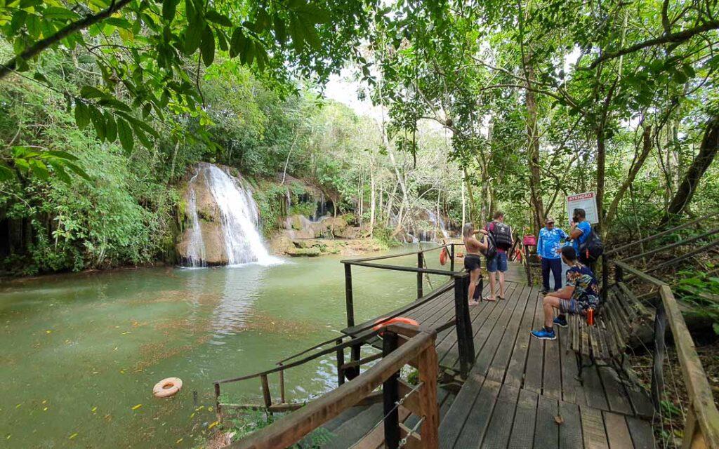 Parque das Cachoeiras em Bonito