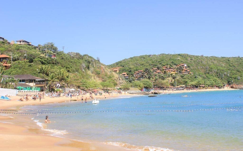 Praia de João Fernandes em Búzios