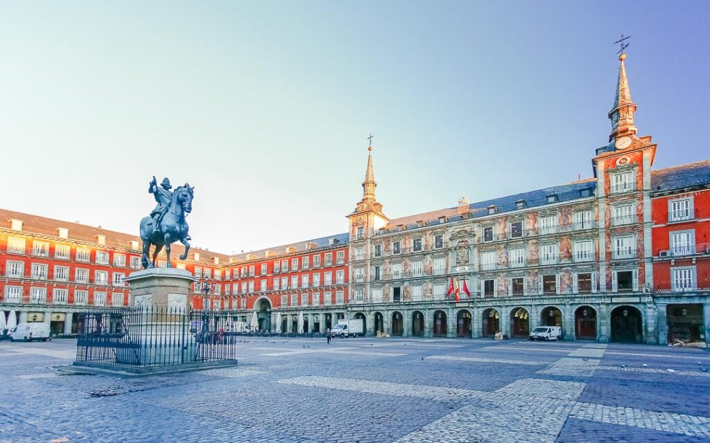 Plaza Mayor de Madri