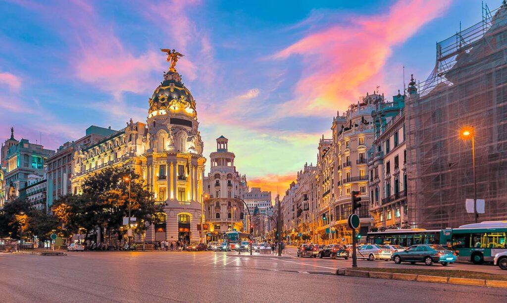 Madri na Espanha