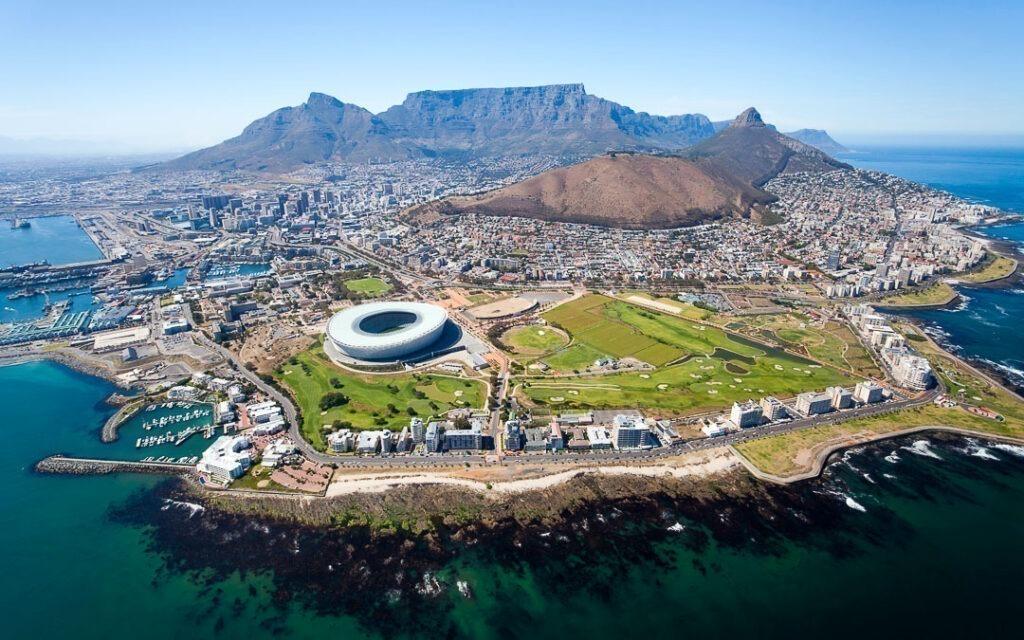 Cape Town na África do Sul